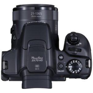Foto 3 Fotocamera Bridge Canon PowerShot SX70 Black – Prodotto in Italiano