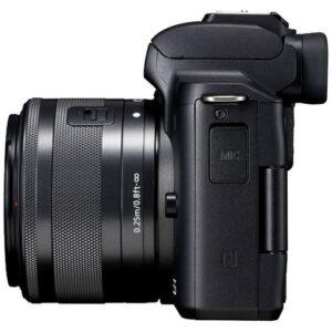 Foto 1 Kit Fotocamera Mirrorless Canon EOS M50 + Obiettivo EF-M 15-45 IS STM Black – Prodotto in Italiano