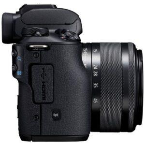 Foto 2 Kit Fotocamera Mirrorless Canon EOS M50 + Obiettivo EF-M 15-45 IS STM Black – Prodotto in Italiano