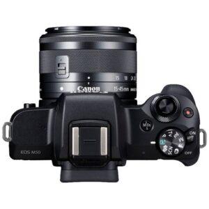 Foto 3 Kit Fotocamera Mirrorless Canon EOS M50 + Obiettivo EF-M 15-45 IS STM Black – Prodotto in Italiano