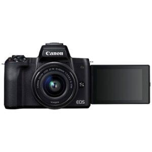 Foto 5 Kit Fotocamera Mirrorless Canon EOS M50 + Obiettivo EF-M 15-45 IS STM Black – Prodotto in Italiano