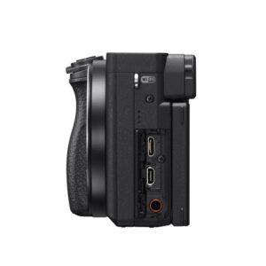 Foto 5 Kit Fotocamera Mirrorless Sony A6400 + Obiettivo 16-50mm (ILCE-6400LB) – Prodotto in Italiano