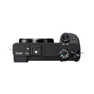 Foto 6 Kit Fotocamera Mirrorless Sony A6400 + Obiettivo 16-50mm (ILCE-6400LB) – Prodotto in Italiano