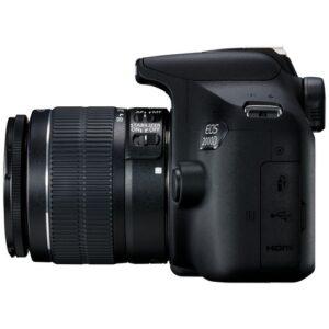 Foto 4 Kit Fotocamera Reflex Canon EOS 2000D + Obiettivo EF-S 18-55mm IS II – Prodotto in Italiano
