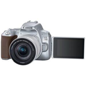 Foto 4 Kit Fotocamera Reflex Canon EOS 250D Silver + Obiettivo 18-55mm IS STM – Prodotto in Italiano