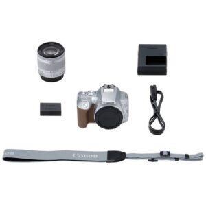 Foto 8 Kit Fotocamera Reflex Canon EOS 250D Silver + Obiettivo 18-55mm IS STM – Prodotto in Italiano