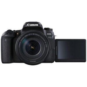 Foto 2 Kit Fotocamera Reflex Canon EOS 77D + Obiettivo 18-135mm IS USM – Prodotto in Italiano