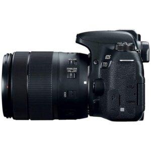 Foto 4 Kit Fotocamera Reflex Canon EOS 77D + Obiettivo 18-135mm IS USM – Prodotto in Italiano