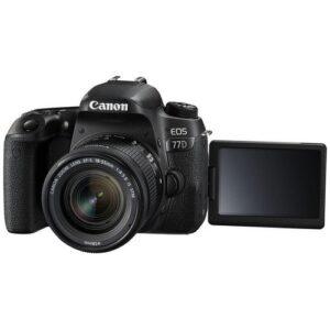 Foto 2 Kit Fotocamera Reflex Canon EOS 77D + Obiettivo 18-55mm STM – Prodotto in Italiano
