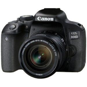 Foto 2 Kit Fotocamera Reflex Canon EOS 800D + Obiettivo 18-55mm IS STM – Prodotto in Italiano