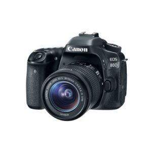 Foto 1 Kit Fotocamera Reflex Canon EOS 80D + Obiettivo 18-55mm IS STM – Prodotto in Italiano