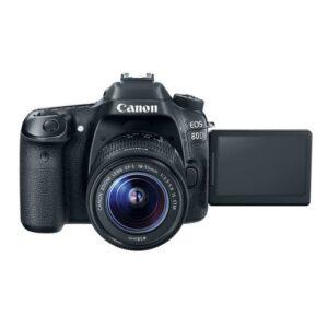 Foto 2 Kit Fotocamera Reflex Canon EOS 80D + Obiettivo 18-55mm IS STM – Prodotto in Italiano