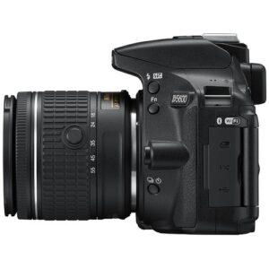 Foto 5 Kit Fotocamera Reflex Nikon D5600 + Obiettivo 18-55mm AF-P VR – Prodotto in Italiano