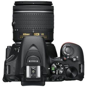 Foto 7 Kit Fotocamera Reflex Nikon D5600 + Obiettivo 18-55mm AF-P VR – Prodotto in Italiano