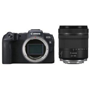 Foto principale Kit Fotocamera Mirrorless Canon EOS RP + Obiettivo RF 24-105mm f/4-7.1 IS STM – Prodotto in Italiano