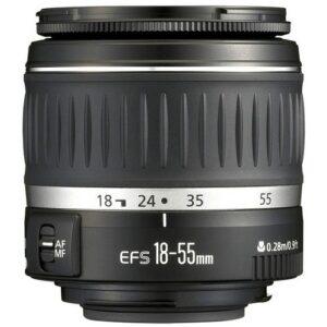Foto principale Obiettivo Reflex Canon EF-S 18-55 DC III Bulk