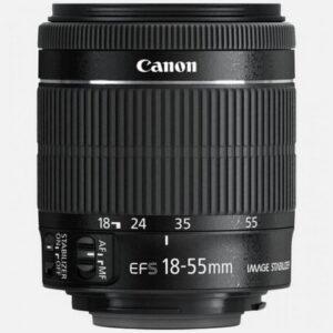 Foto 1 Obiettivo Reflex Canon EF-S 18-55mm F/4-5.6 IS STM Bulk