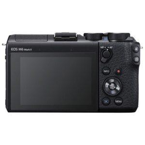 Foto 1 Fotocamera Mirrorless Canon M6 Mark II + Obiettivo EF-M 15-45mm + Mirino Elettronico EVF – Prodotto in Italiano