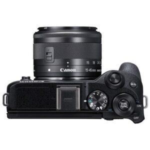 Foto 3 Fotocamera Mirrorless Canon M6 Mark II + Obiettivo EF-M 15-45mm + Mirino Elettronico EVF – Prodotto in Italiano