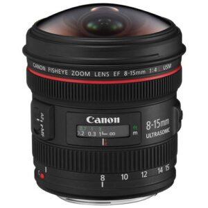 Foto principale Obiettivo Reflex Canon EF 8-15mm f/4L Fisheye USM