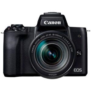 Foto principale Kit Fotocamera Mirrorless Canon EOS M50 + Obiettivo EF-M 18-150mm – Prodotto in Italiano