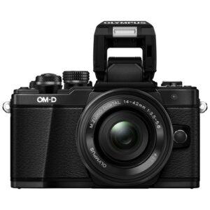Foto 1 Kit Fotocamera Mirrorless Olympus E-M10 Mark II + Obiettivo 14-42mm EZ Black