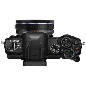 Foto 3 Kit Fotocamera Mirrorless Olympus E-M10 Mark II + Obiettivo 14-42mm EZ Black