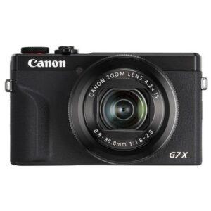 Foto 1 Fotocamera Compatta Canon PowerShot G7X Mark III Black + Batteria – Prodotto in Italiano