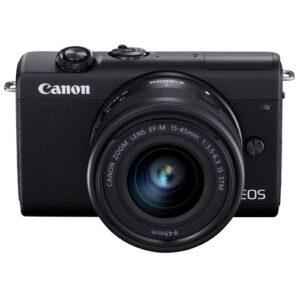 Foto 1 Fotocamera Mirrorless Canon EOS M200 + Obiettivo 15-45mm IS STM Black – Prodotto in Italiano