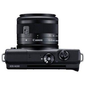Foto 3 Fotocamera Mirrorless Canon EOS M200 + Obiettivo 15-45mm IS STM Black – Prodotto in Italiano