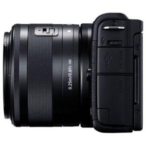 Foto 5 Fotocamera Mirrorless Canon EOS M200 + Obiettivo 15-45mm IS STM Black – Prodotto in Italiano