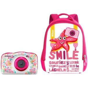 Foto principale Fotocamera Compatta Nikon Coolpix W150 Flower Backpack Kit – Prodotto in Italiano