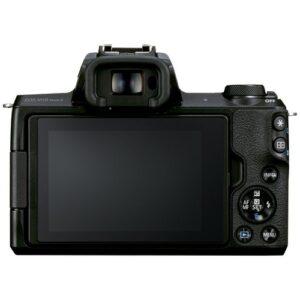 Foto 2 Kit Fotocamera Mirrorless Canon EOS M50 Mark II + Obiettivo EF-M 15-45mm IS STM Black – Prodotto in Italiano