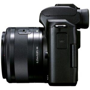 Foto 5 Kit Fotocamera Mirrorless Canon EOS M50 Mark II + Obiettivo EF-M 15-45mm IS STM Black – Prodotto in Italiano
