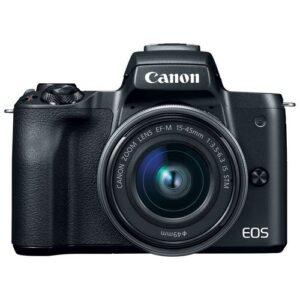Foto 1 Kit Fotocamera Mirrorless Canon EOS M50 + Obiettivo 15-45mm S + Obiettivo M22 Black – Prodotto in Italiano