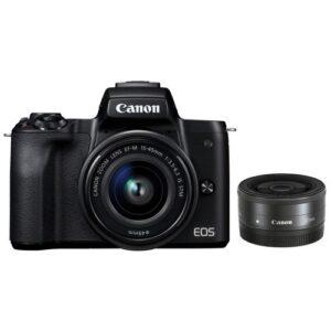 Foto principale Kit Fotocamera Mirrorless Canon EOS M50+ Obiettivo 15-45mm S + Obiettivo M22 Black – Prodotto in Italiano