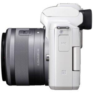 Foto 4 Kit Fotocamera Mirrorless Canon EOS M50 + Obiettivo EF-M 15-45 IS STM White – Prodotto in Italiano