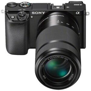 Foto 1 Kit Fotocamera Mirrorless Sony A6000YB + Obiettivo 16-50mm + Obiettivo 55-210mm Black – Prodotto in Italiano