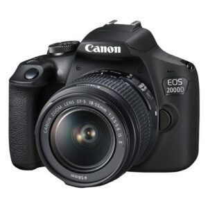Foto 2 Kit Fotocamera Reflex Canon EOS 2000D + Obiettivo 18-55mm IS + Obiettivo 50mm 1.8S – Prodotto in Italiano