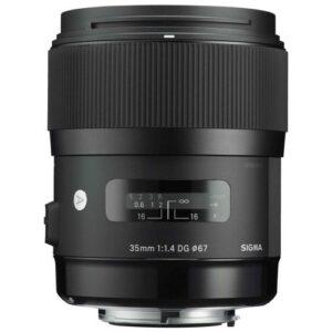 Foto 2 Obiettivo Mirrorless Sigma 35mm F1.4 DG HSM Art Sony E