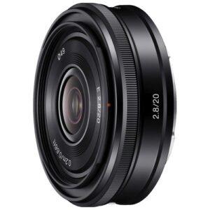 Foto 1 Obiettivo Mirrorless Sony SEL 20mm/F2.8