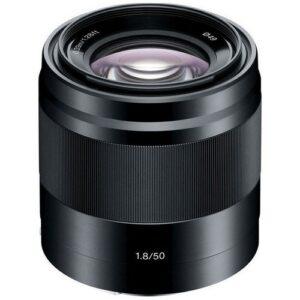 Foto 2 Obiettivo Mirrorless Sony SEL 50mm/F1.8 Black
