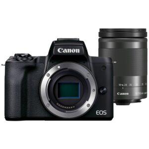 Foto 1 kit Fotocamera Mirrorless Canon EOS M50 Mark II + Obiettivo 18-150mm – Prodotto in Italiano