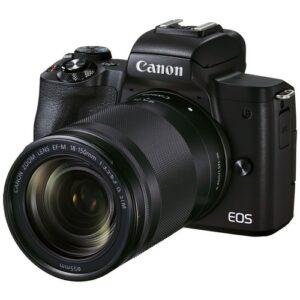 Foto 2 kit Fotocamera Mirrorless Canon EOS M50 Mark II + Obiettivo 18-150mm – Prodotto in Italiano
