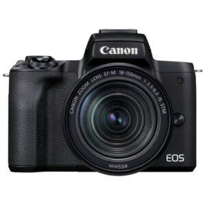Foto principale kit Fotocamera Mirrorless Canon EOS M50 Mark II + Obiettivo 18-150mm – Prodotto in Italiano