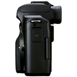 Foto 4 kit Fotocamera Mirrorless Canon EOS M50 Mark II + Obiettivo 18-150mm – Prodotto in Italiano