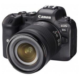 Foto 1 Kit Fotocamera Mirrorless Canon EOS R6 + Obiettivo 24-105mm STM – Prodotto in Italiano