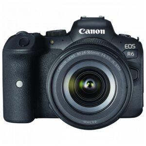 Foto principale Kit Fotocamera Mirrorless Canon EOS R6 + Obiettivo 24-105mm STM – Prodotto in Italiano