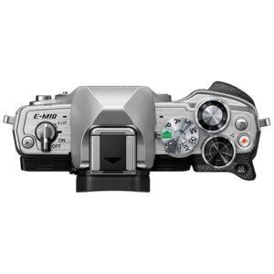Foto 5 Kit Fotocamera Mirrorless Olympus E-M10 IV + Obiettivo ED 14-42mm F/3.5-5.6 Argento