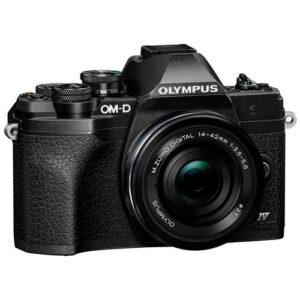 Foto 1 Kit Fotocamera Mirrorless Olympus E-M10 IV + Obiettivo ED 14-42mm F/3.5-5.6 Nero